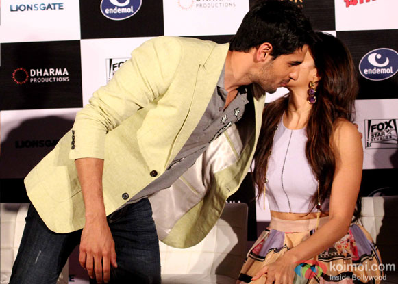 Sidharth Malhotra and Jacqueline Fernandez At Brothers' Trailer Launch