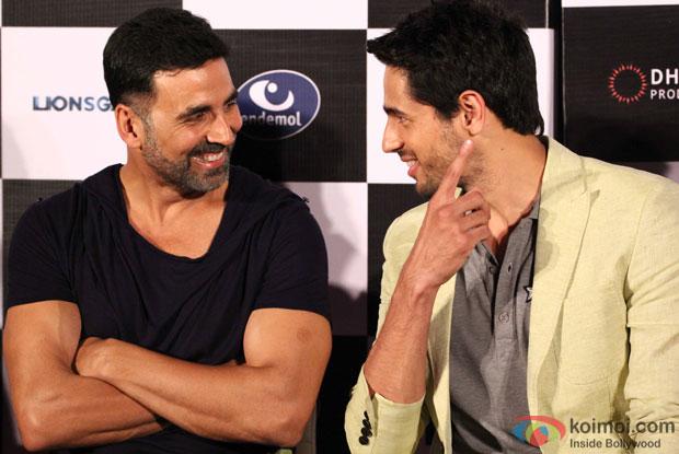 Akshay Kumar and Sidharth Malhotra At Brothers' Trailer Launch