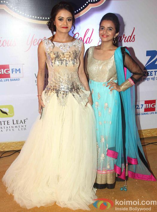 Devoleena Bhattacharjee At Zee Gold Awards 2015 Red Carpet