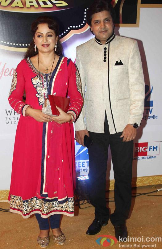 Upasana Singh At Zee Gold Awards 2015 Red Carpet