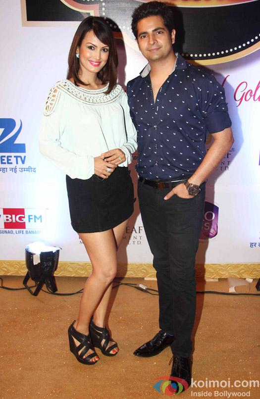 Karan Mehra At Zee Gold Awards 2015 Red Carpet