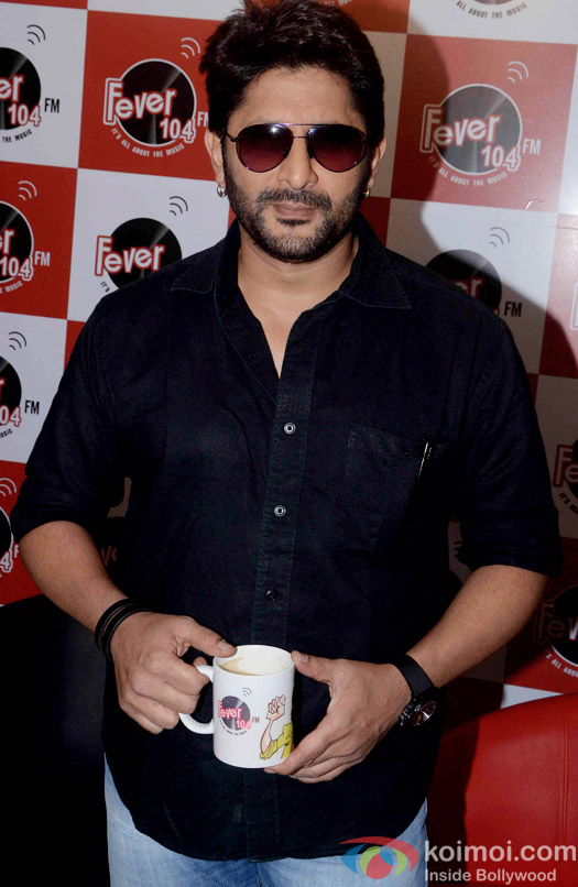 Arshad Warsi during the promtion of movie 'Guddu Rangeela' at Fever 104 FM
