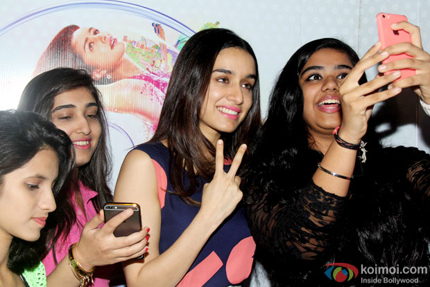 Shraddha Kapoor during the Promotion of ABCD 2
