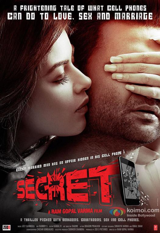 Kainaat Arora and Sachin Joshi in a still from movie 'Secret'