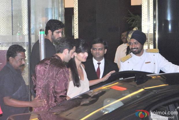 Ranbir Kapoor and Katrina Kaif Snapped At Arjun Kapoor's Birthday Bash