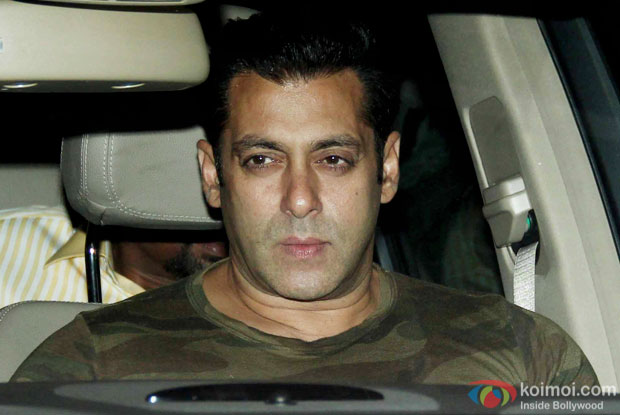 Salman Khan Snapped At Lightbox