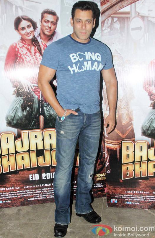 Salman Khan Snapped At Mehboob Studio