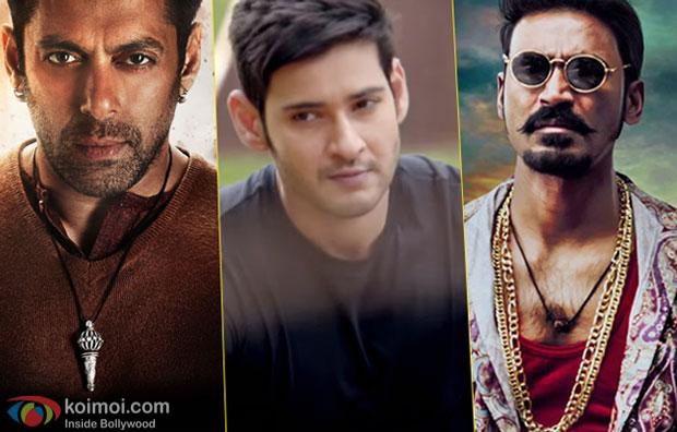 Salman Khan, Mahesh Babu and Dhanush