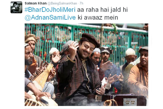 Salman's Favorite Song From Bajrangi Bhaijaan Is 'Bhar Do Jholi Meri Aaj'