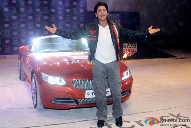 Shah Rukh Khan At The Launch Of Tag Heuer's New Edition