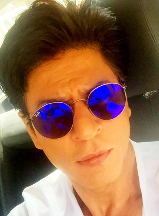 Shah Rukh Khan On The Sets Of 'Dilwale' In Bulgaria