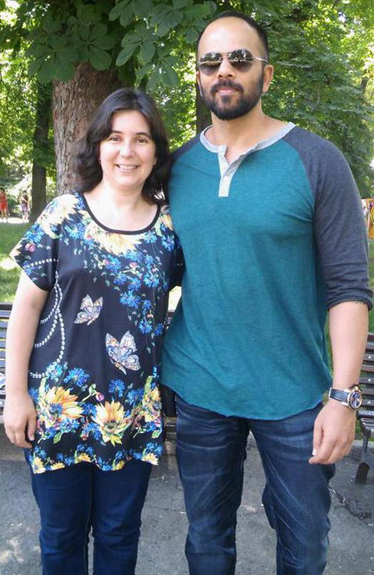 Rohit Shetty On The Sets Of 'Dilwale' In Bulgaria