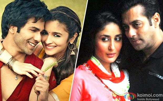 Varun Dhawan, Alia Bhatt, Kareena Kapoor Khan and Salman Khan