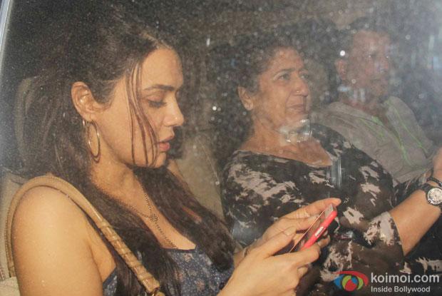 Preity Zinta spotted at 'Dil Dhadakne Do' screening