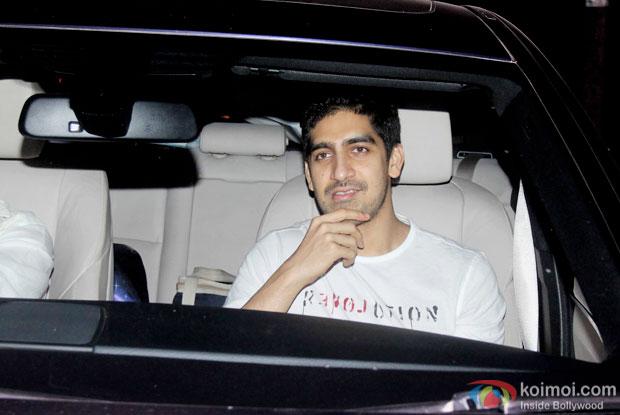 Ayan Mukerji spotted at 'Dil Dhadakne Do' screening
