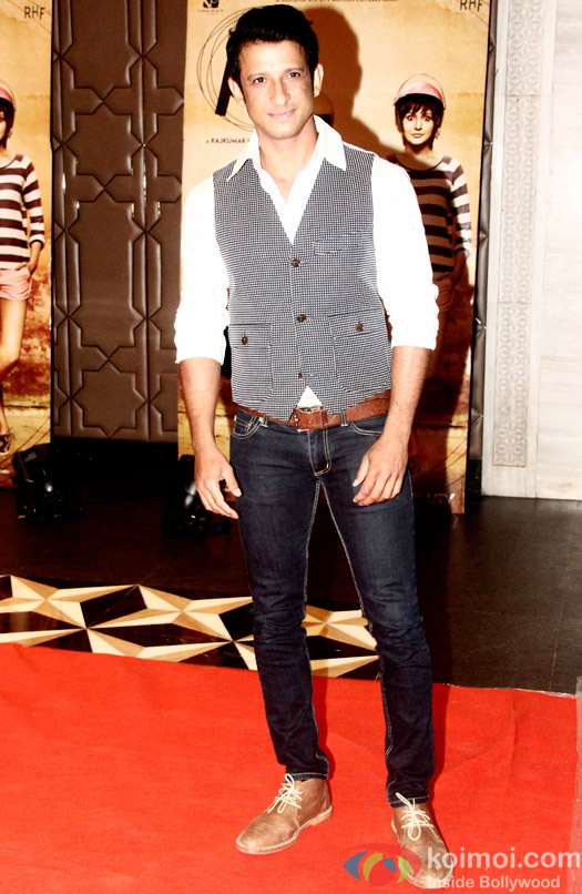 Sharman Joshi during the success party of movie 'PK'