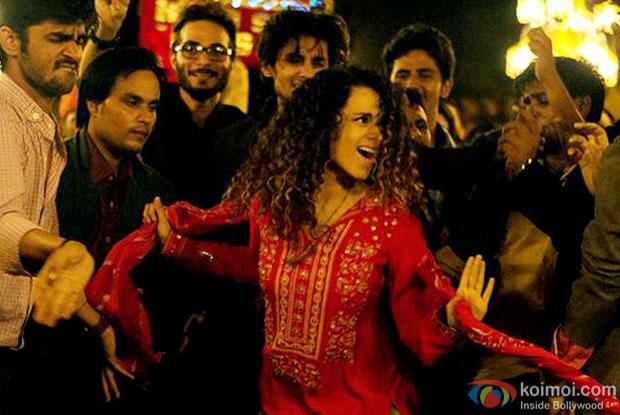 Kangana Ranaut in a still from movie 'Tanu Weds Manu Returns'