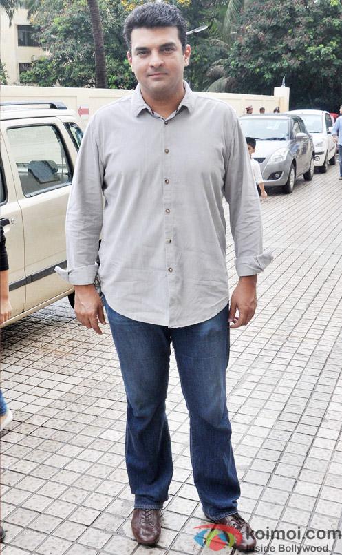 Siddharth Roy Kapur during the trailer launch of movie 'Katti Batti'