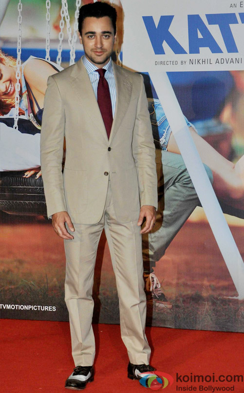 Imran Khan during the trailer launch of movie 'Katti Batti'