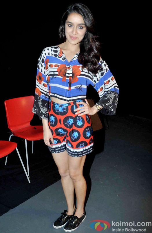 Shraddha Kapoor Snapped At ABCD 2 Promotions