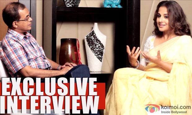 Exclusive Interview : Vidya Balan On Being A Doctor, Hamari Adhuri Kahani & Kangana As 'Female Khan'