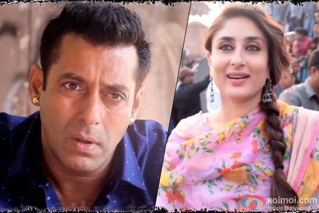 Salman Khan and Kareena Kapoor Khan