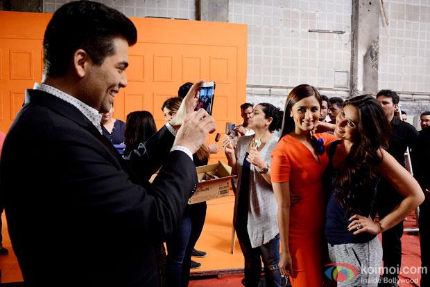 When Karan Johar Captured His Two Fav Beauties Alia bhatt & Kareena Kapoor Khan In One Click!