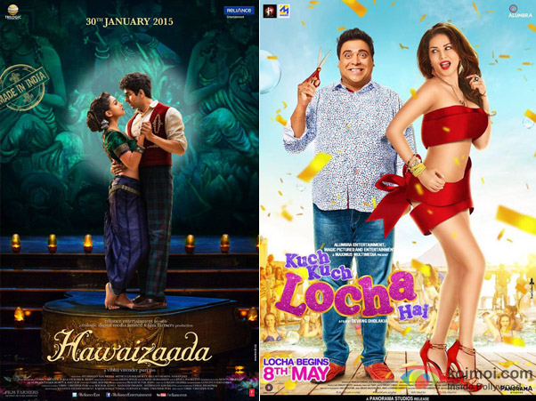 Hawaizaada and Kuch Kuch Locha Hai Movie Poster