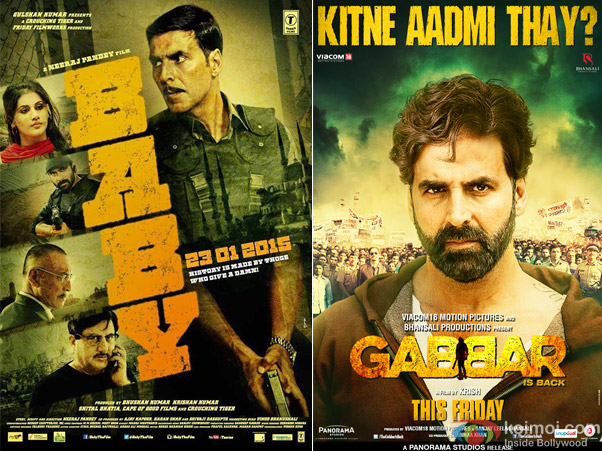 Baby and Gabbar is Back Movie Poster
