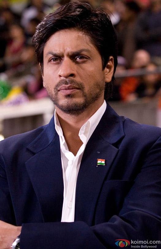 Shah Rukh Khan in a beard look still from movie 'Chak De! India (2007)'
