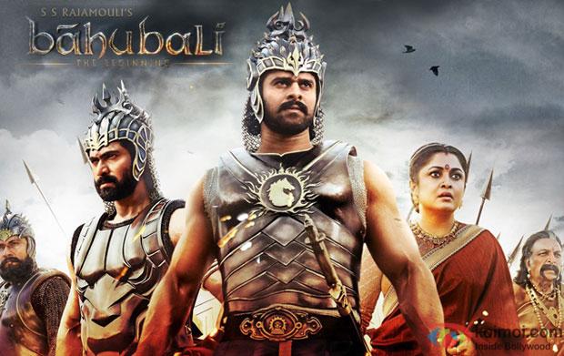 Rana Daggubati and Prabhas in a still from 'Bahubali' movie poster