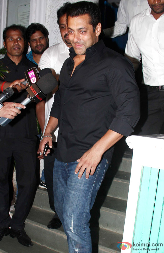 Salman Khan during the 'ABCD 2′ Success Bash