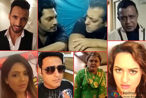 Puneet, Sugandha Mishra, Nawazuddin Siddiqui,  Kapil Sharma, Salman Khan, Ali Asgar, Mithun Chakraborty and  Sonakshi Sinha