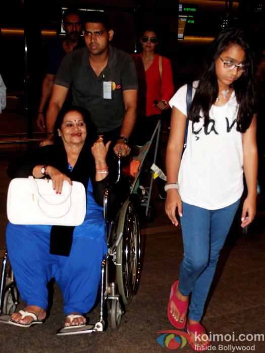 Ajay Devgn & Kajol Snapped With Kids Yug, Nysa On Their London Return