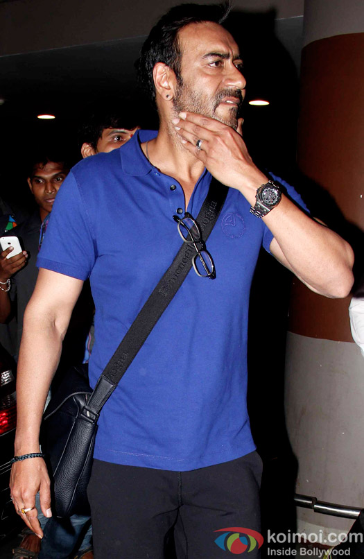 Ajay Devgn Snapped On London Return