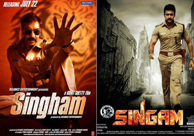 Singham – Remake – Tamil blockbuster Singam