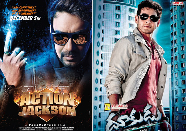 Action Jackson – Remake – Telugu movie Dookudu. But there is no any other official evidence about this news