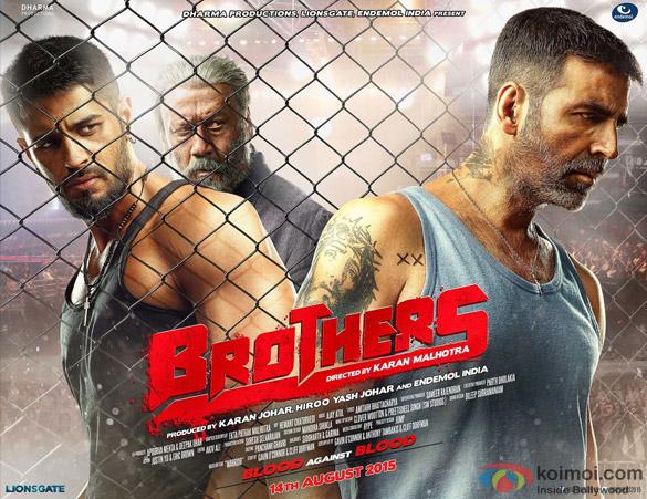 Akshay Kumar starrer 'Brothers' Movie Poster