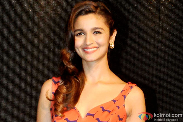 Alia Bhatt during the launch of Colors Infinity