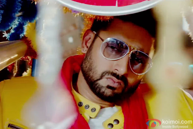 Abhishek Bachchan in a still from movie 'All Is Well'