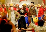 Rishi Kapoor, Sonakshi Sinha and Abhishek Bachchan in All Is Well Movie Stills Pic 1