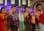 Supriya Pathak, Rishi Kapoor, Asin and Abhishek Bachchan in All Is Well Movie Stills Pic 1