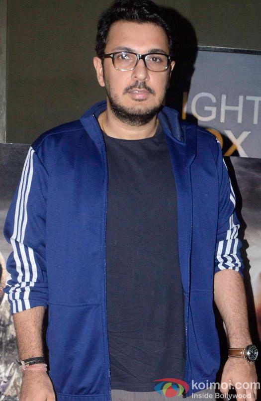 Dinesh Vijan during the screening of 'Bahubali- the Beginning'