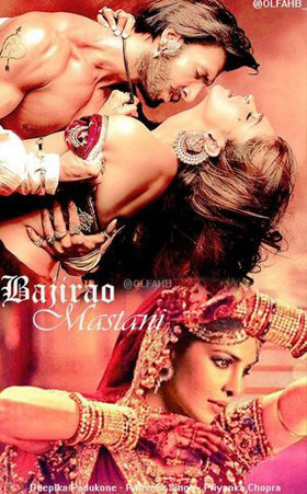 Fan Made Bajirao Mastani Movie Poster