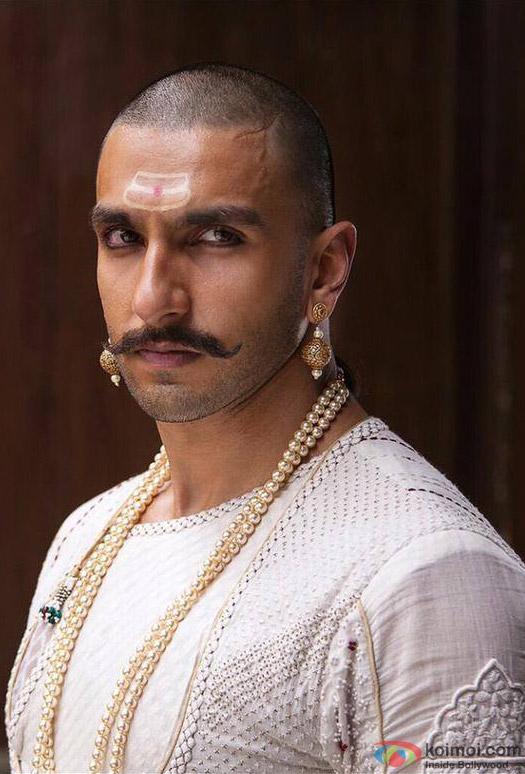 Ranveer Singh in Bajirao Mastani Movie Stills Pic 1