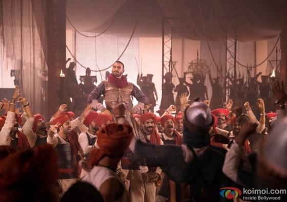 Ranveer Singh in Bajirao Mastani Movie Stills Pic 6