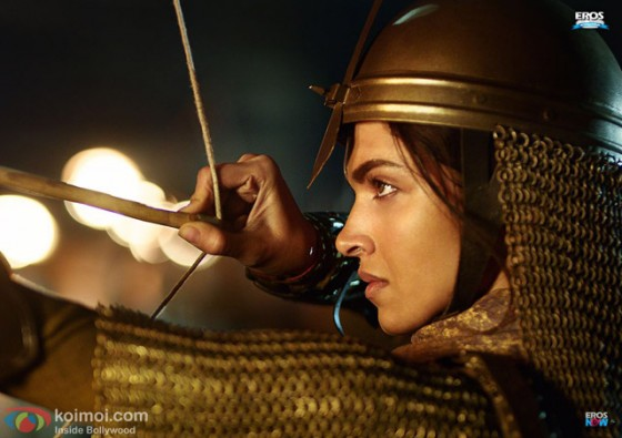 Deepika Padukone in Bajirao Mastani Movie Stills Pic 1