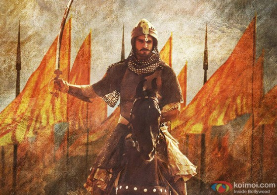 Ranveer Singh in Bajirao Mastani Movie Stills Pic 2