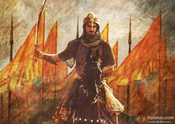Ranveer Singh in Bajirao Mastani Movie Stills Pic 2