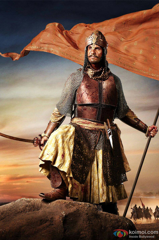 Ranveer Singh in Bajirao Mastani Movie Stills Pic 4